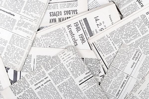 新聞紙のイメージ