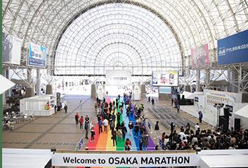 2日間開催!大阪マラソンEXPO毎年約5万人の来場者で大盛況!